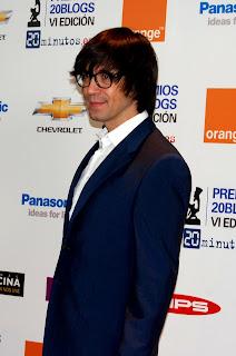 Luis Piedrahita. El equipo de Revista Making Of en gala de los Premios 20 Blogs