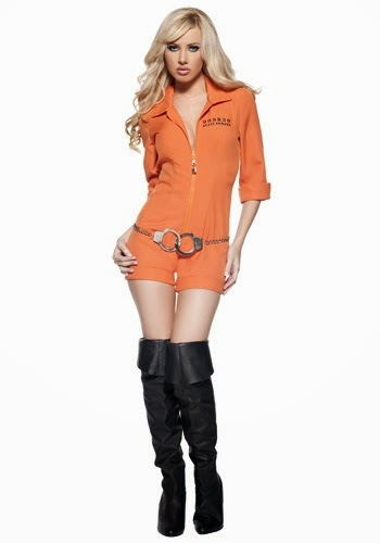 this is a cool prison jumpsuit for halloween as a teen girl you probably want something unique and that not many girls would we wearing for halloween - Halloween Costumes That Are Cute