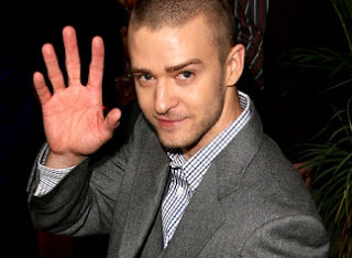 Justin Timberlake's hands!