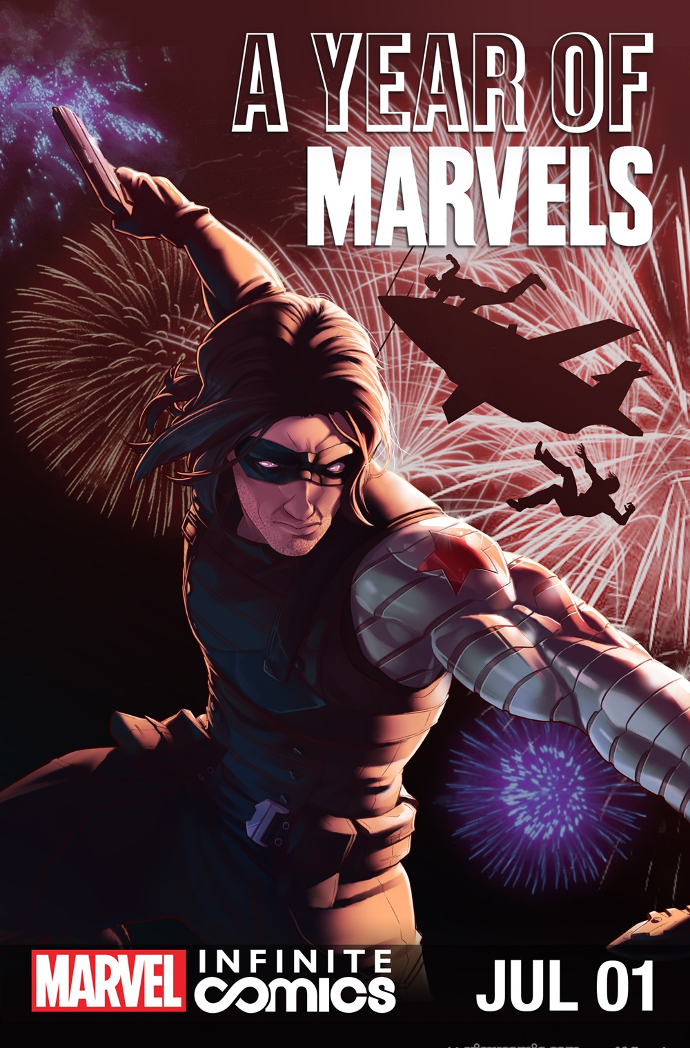 A Year of Marvels – July Infinite Comic