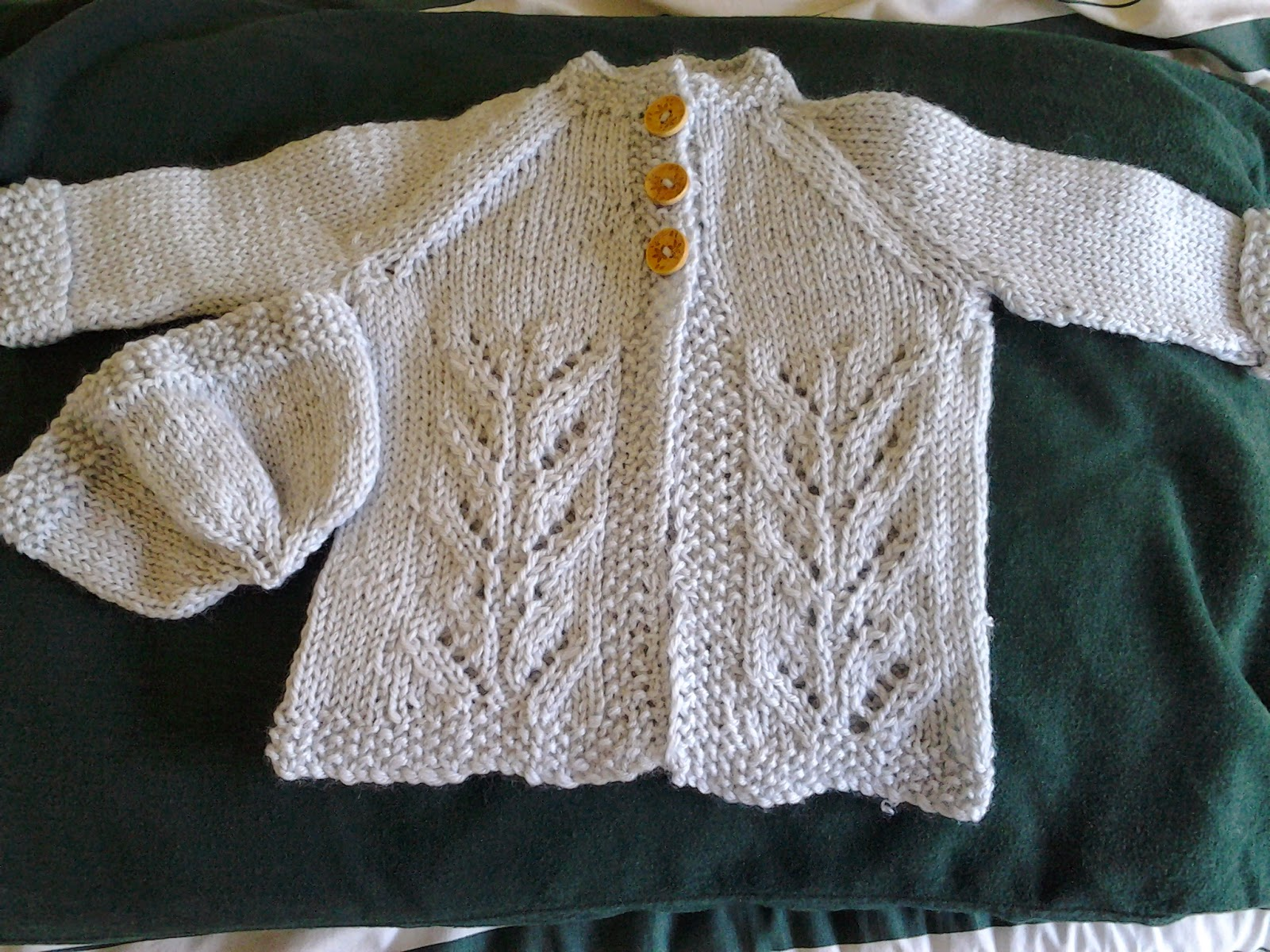 Free Knitting Pattern For Raglan Sleeve Baby Cardigan : alankarshilpa: A Free Knitting pattern - Baby Cardigan Raglan from Bottom up.