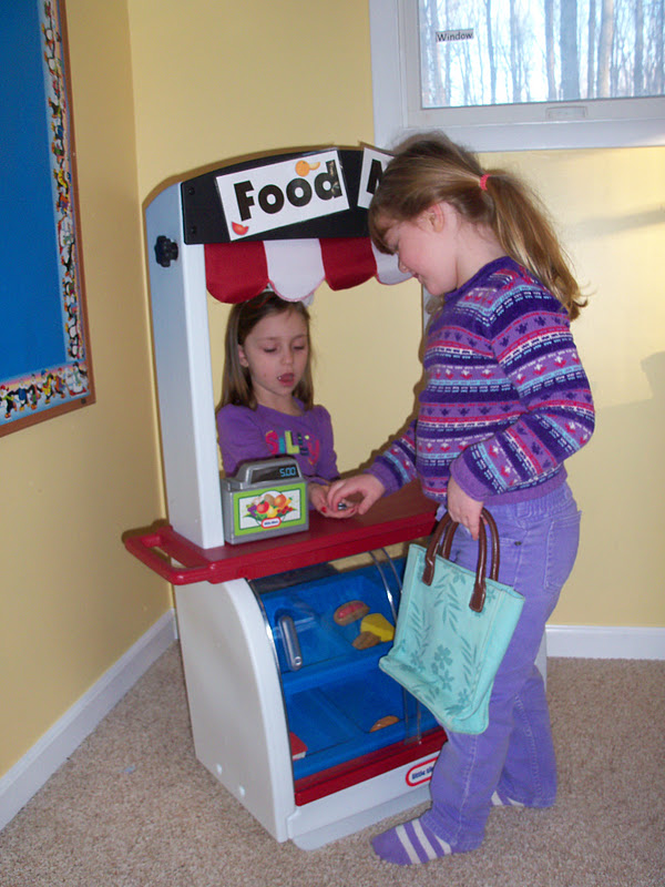 The Thoughtful Spot Day Care Grocery Store Dramatic Play