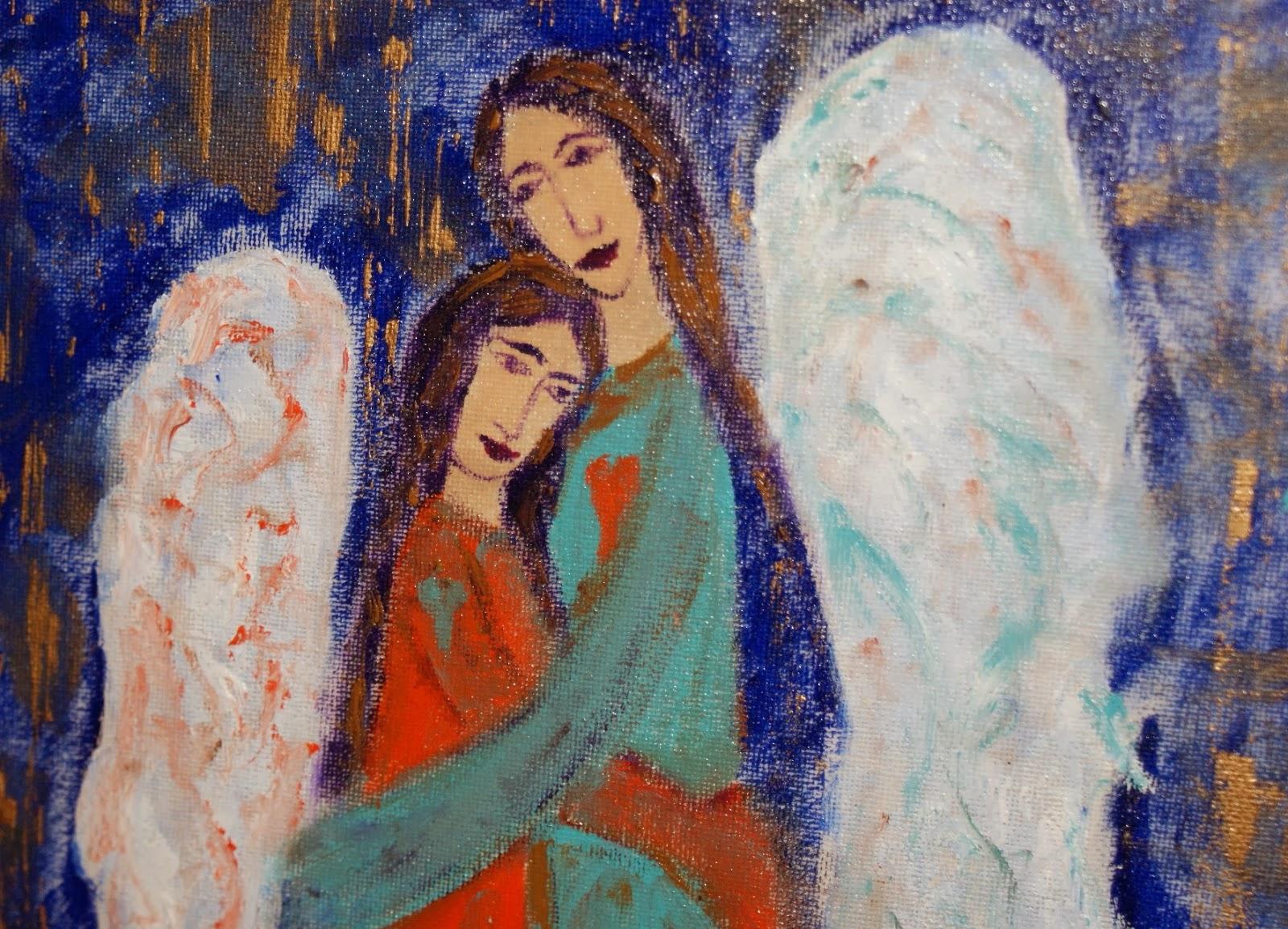 Anioły rękodzieło