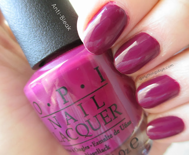 OPI Anti-Bleak, girlythingsby_e