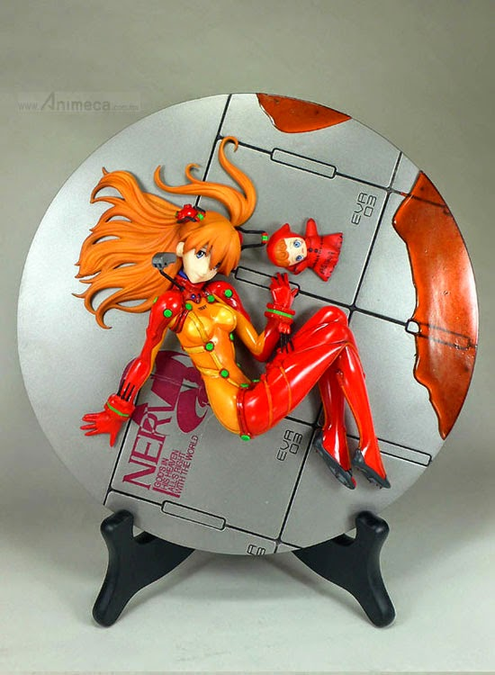 FIGURA ASUKA LANGLEY SHIKINAMI TEST SUIT Polystone Ver. EVANGELION 2.0 YOU CAN (NOT) ADVANCE