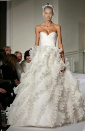 Puffy White Wedding Dress Designs