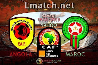 Maroc Vs Angola LIVE