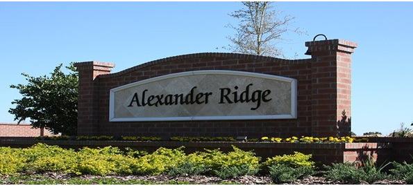 Winter Garden New Homes   Alexander Ridge
