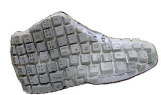 zapatos teclas
