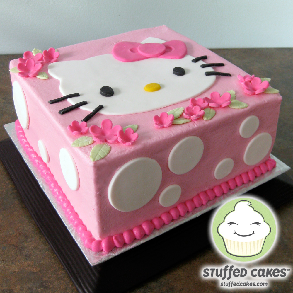 Images Of A Hello Kitty Cake : Stuffed Cakes: Hello Kitty Cake