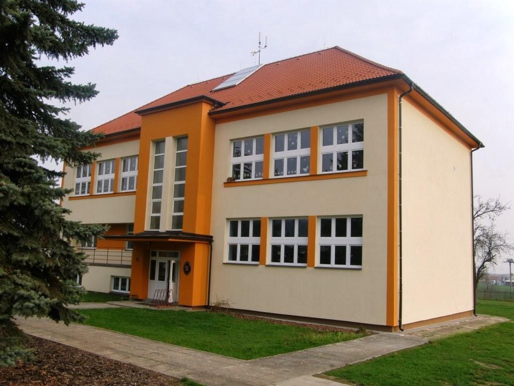 Budova MŠ Drahonice
