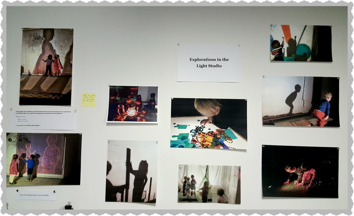 Documentation of children's making sense of light