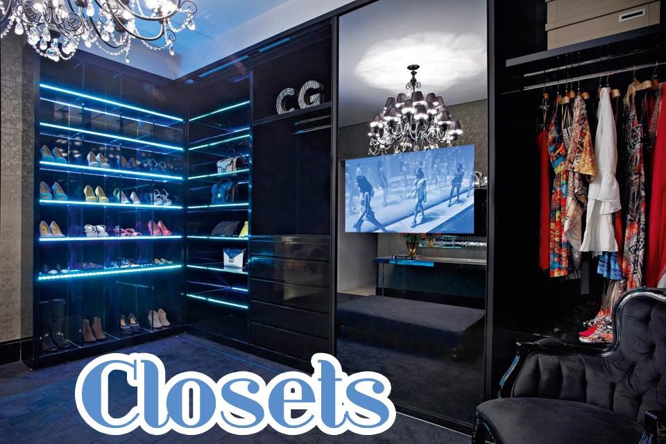 Closets veja 15 quartos de vestir de diferentes estilos