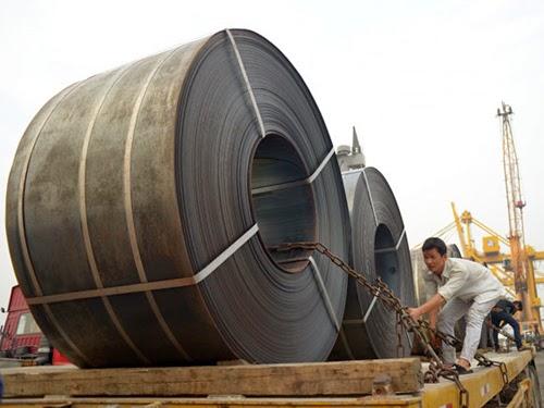Nhập khẩu sắt thép có doan nghiệp chỉ mất 5 ngày làm thủ tục