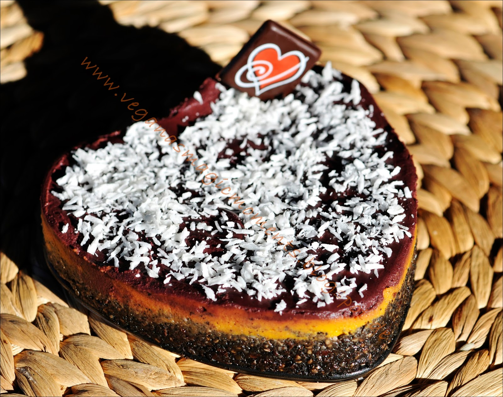 Rohkost Torte TRICOLORE 2 Varianten