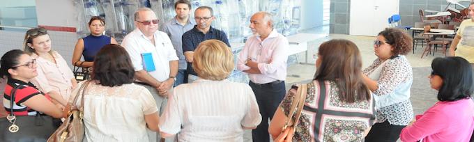 Secretário Francisco das Chagas mostra Centro de Educação Profissional de Extremoz às escolas técnicas da UFRN