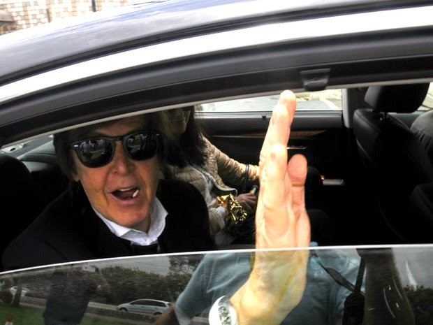 The Beatles Polska: McCartney wylądował w Ameryce Południowej