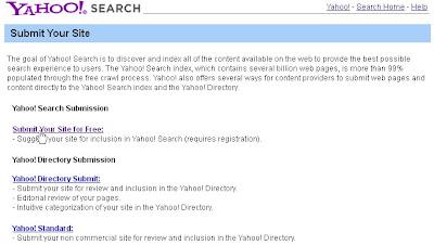 Cara Submit URL ke Google, Yahoo, dan Bing