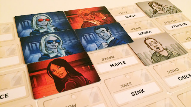 Codenames Board Game Review double agent