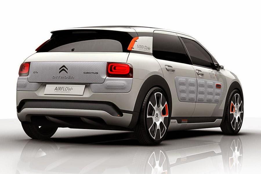 Citroën C4 Cactus Airflow 2L Concept (2014) Rear Side