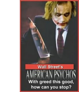 STUDY: 10% on Wall Street are Psychopaths