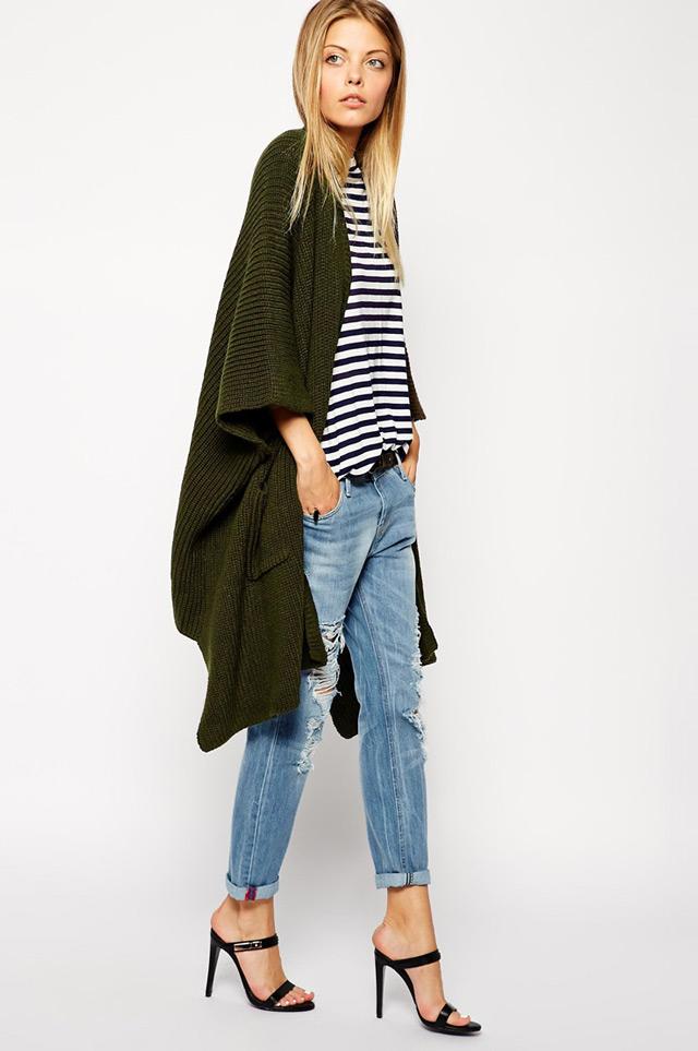 fall chic women's clothing, long cardigan
