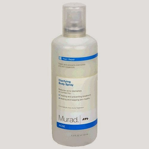 Murad Acne Clarifying Body Spray, Step 2 Treat/Repair, 4.3 fl oz - Clears and Prevents Blemishes and Skin Breakouts