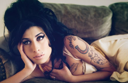 Amy Winehouse-tattoo