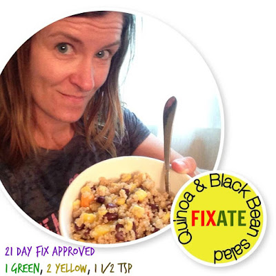 www.alysonhorcher.com, alysonhorcher@gmail.com, FIXATE, 21 day fix approved recipes, Quinoa and black bean salad, 21 day fix, 21 day fix extreme, healthy eating, healthy living, healthy recipes, 21 day fix recipes, clean eating