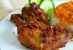 resep praktis dan mudah membuat makanan khas ayam goreng kampung spesial enak, gurih, lezat