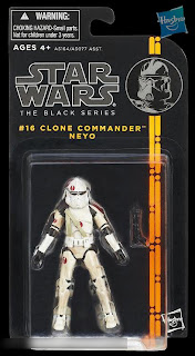 "Hasbro Star Wars The Black Series - Series 2 - 3.75"" Clone Commander Neyo Figure"