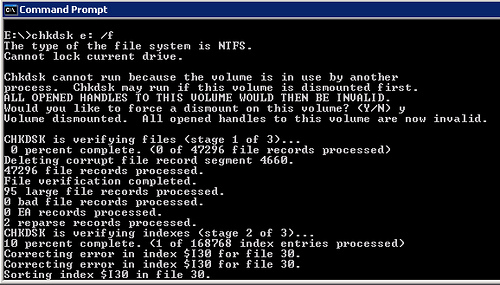 Что Такое Checking File System On D The Type Of The File System Is Ntfs