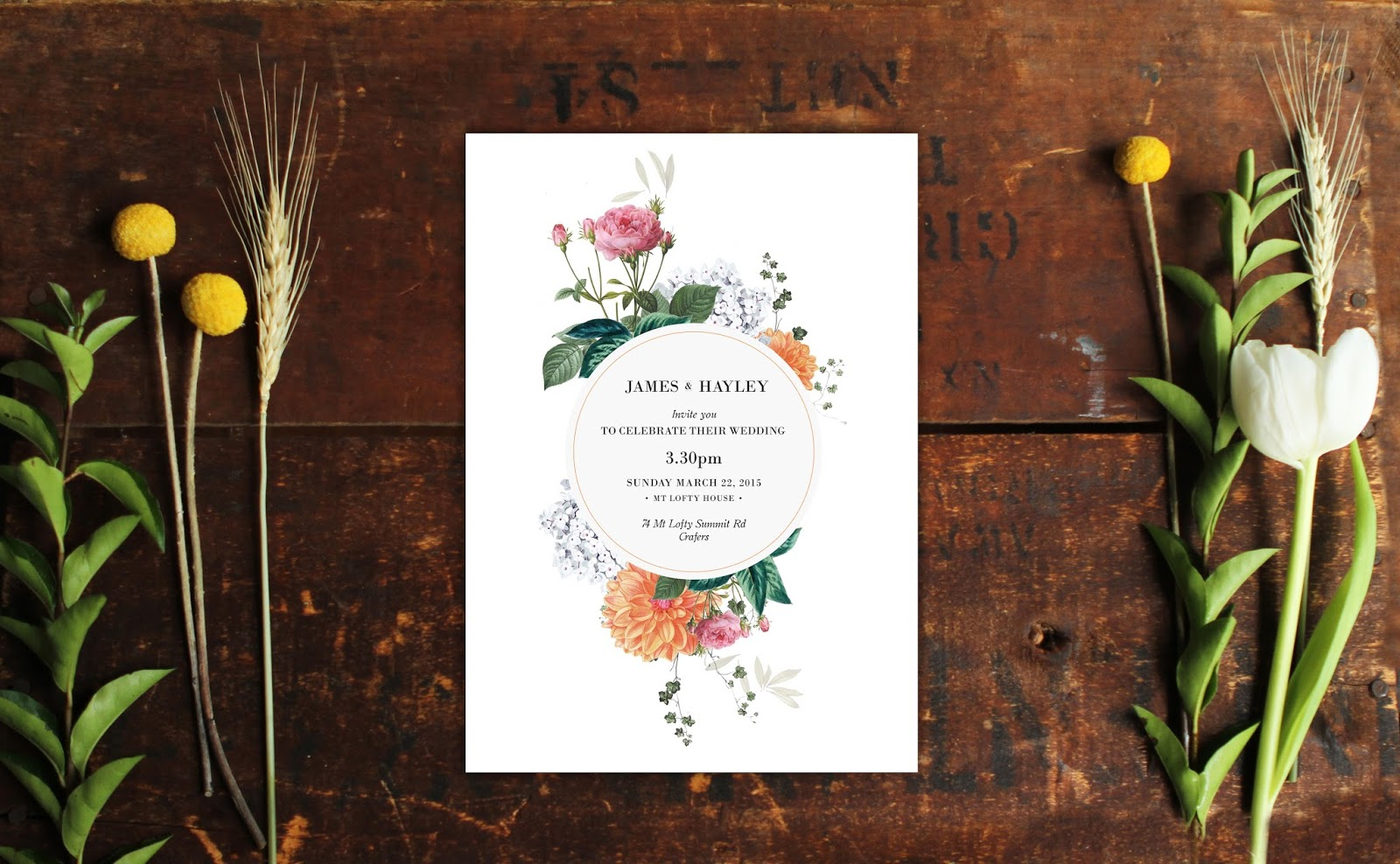 Botanical Wedding Invitations Wedding Decor Ideas