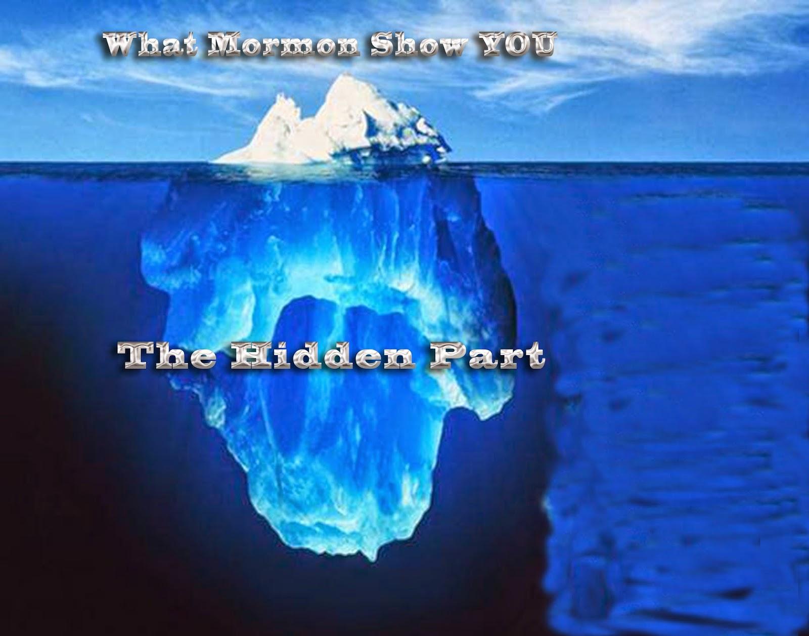 the truth about mormonism the iceberg principle appendix 1 understanding mormonism sandra and conrad sundholm