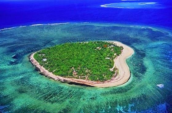 insule in forma de inima