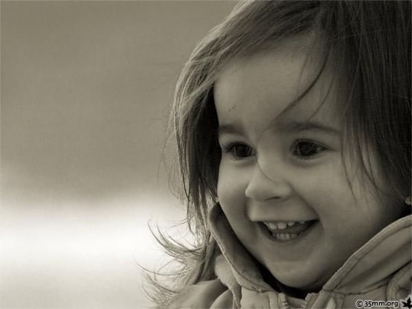 alegría en niños