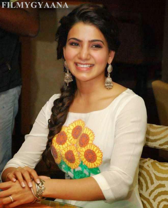 Samantha Ruth Prabhu Latest Wallpapers In White Dress