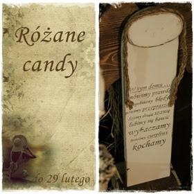 Różane Candy:)