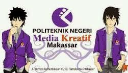 Logo Politeknik Negeri Media Kreatif, Makassar