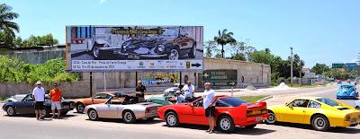 O evento, realizado na Ilha de Itamaracá, foi divulgado na Internet e também em outdoor.