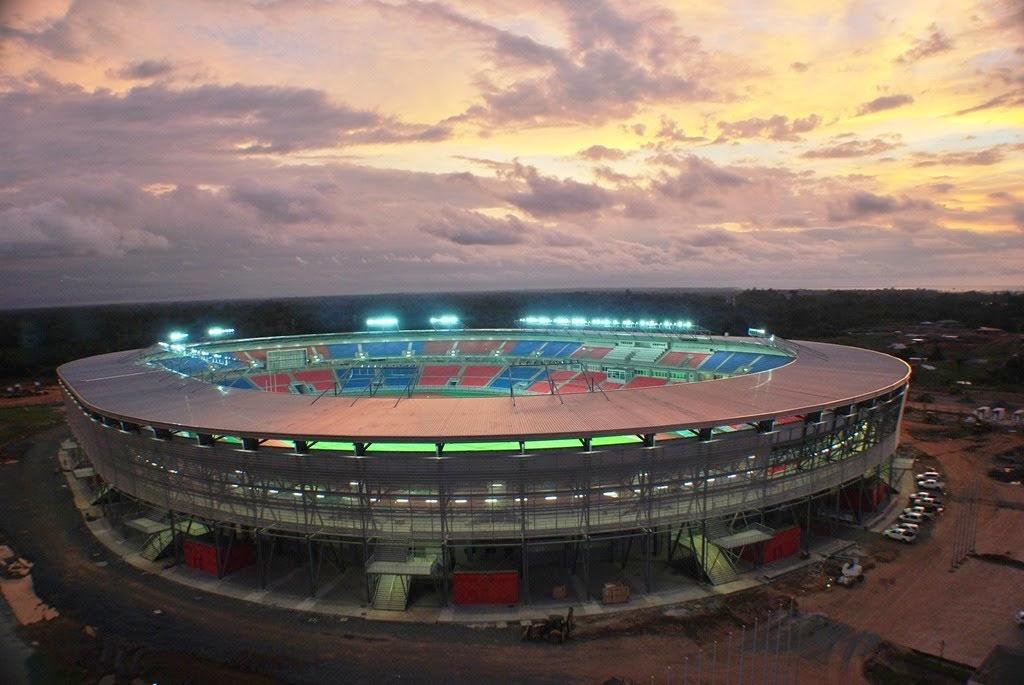 Estadio de Bata archistadia vista esterna