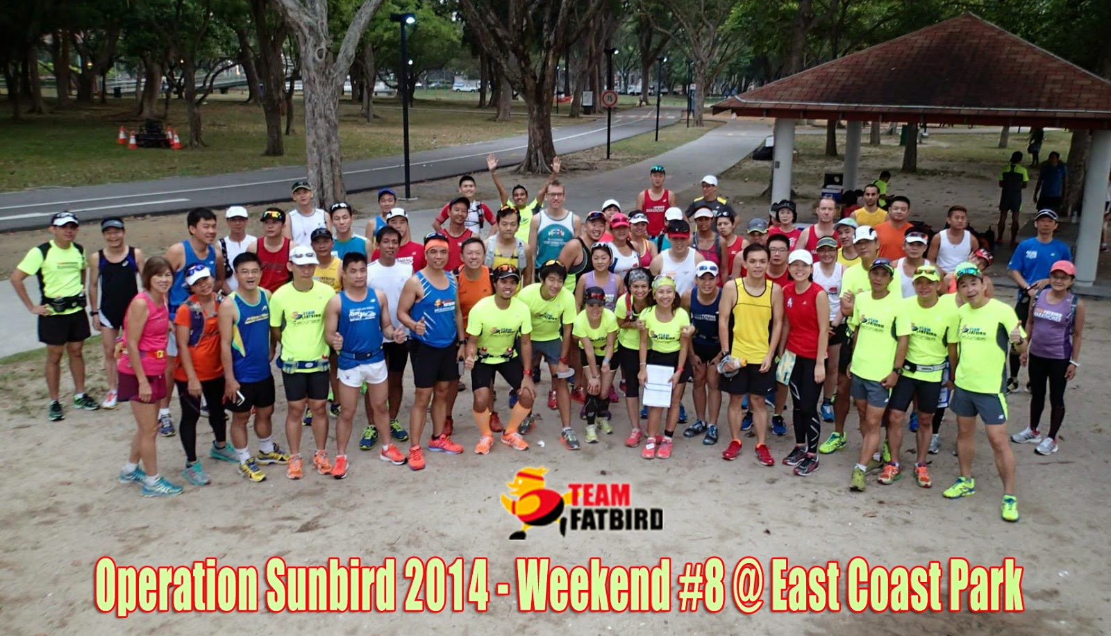 Sunbirds enjoyed cool weather Marathon Pace LSD