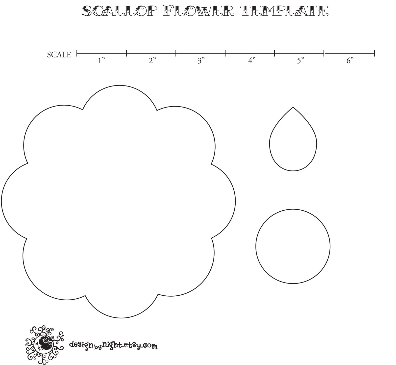 footprint cut out template - baltimore etsy street team no sew felt flower headband