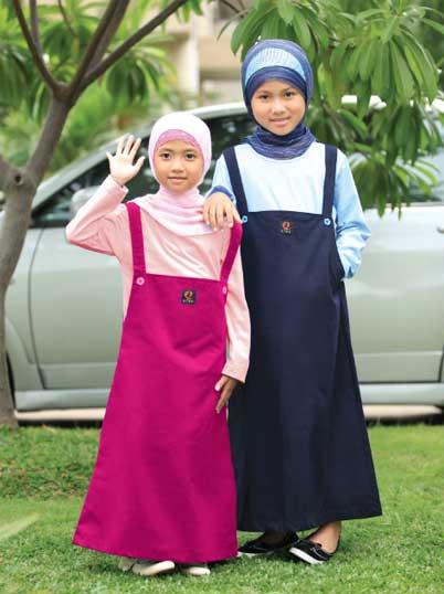 Gambar Baju Muslim Anak Perempuan Terbaik 2015