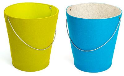felt pail / bucket