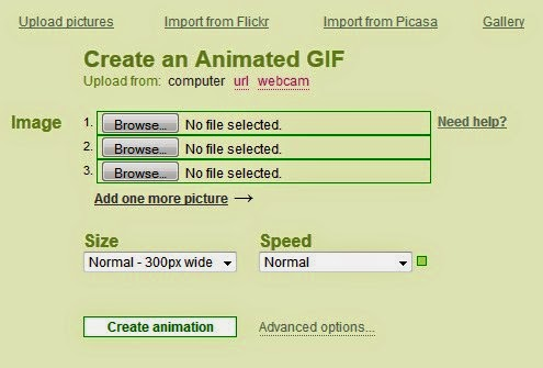 how to create gif animation online