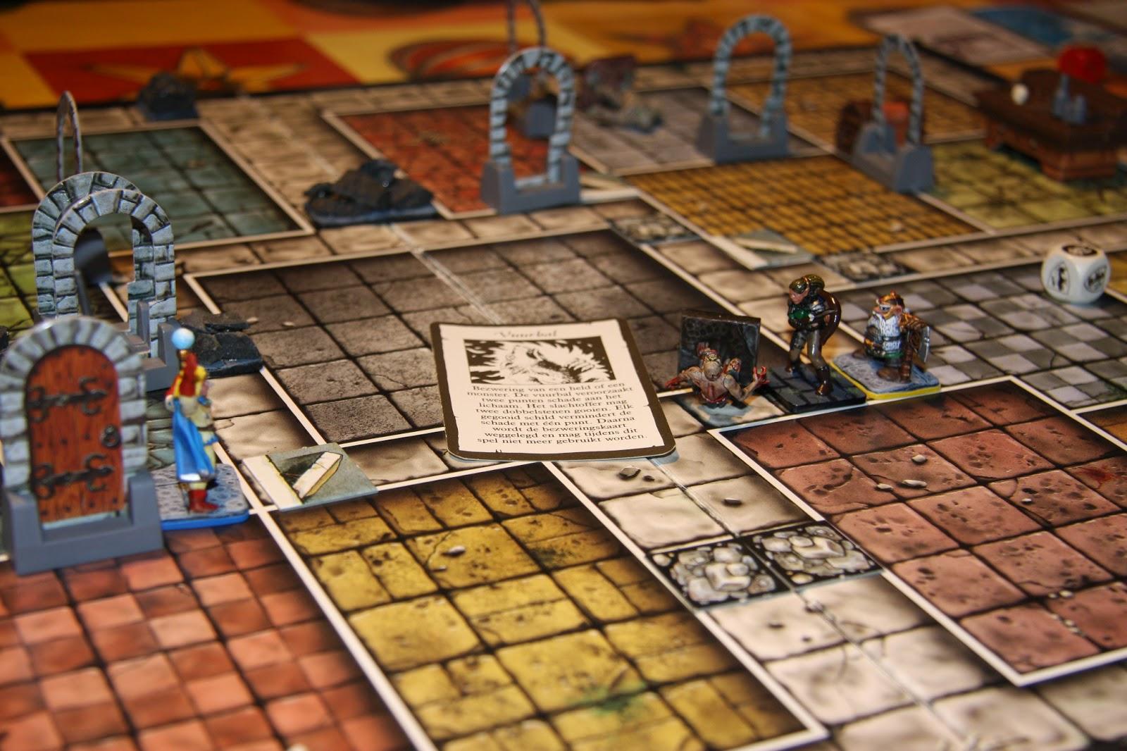 Ye olde inn 39 s community blog on heroquest saturday night dungeon the halls of vision - Corridor schilderen ...