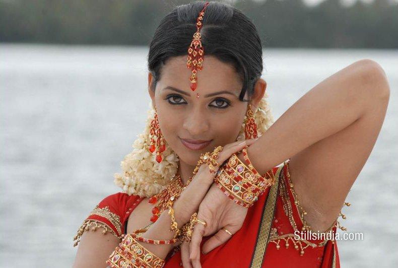 Actress Bhavana In Saree