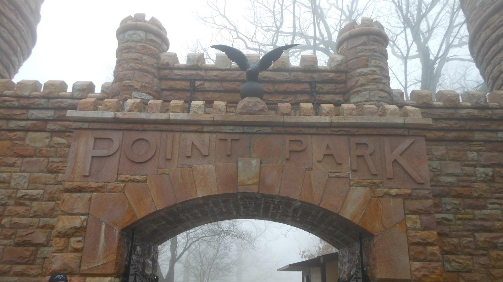 Point Park sign