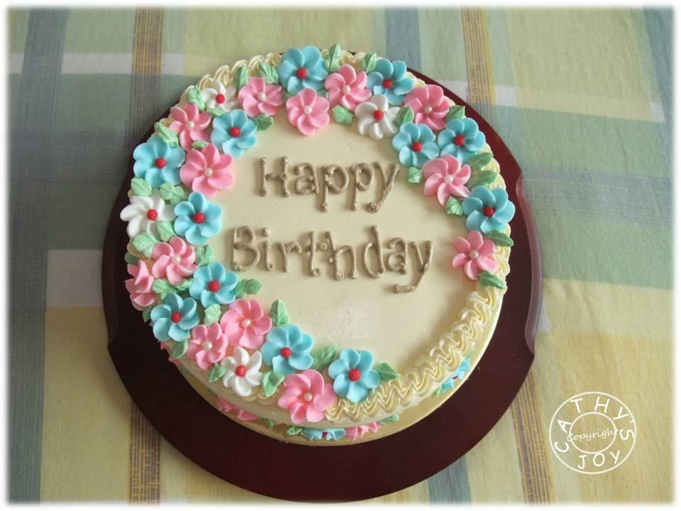 cathys joy A Birthday Cake for someone sweet